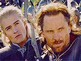 And here we have the...er...regal and...uh...dignified...elf...dammit Legolas!