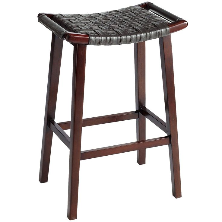 Keating Brown Backless Bar Stool  sc 1 st  Pinterest & Best 25+ Backless bar stools ideas on Pinterest | Stools for ... islam-shia.org