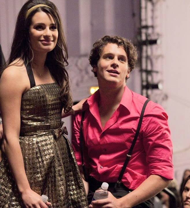 Rachel Berry and Jesse St. James Glee