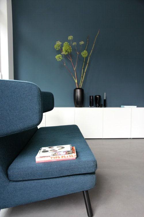 Zu Besuch im Büro von Kreativdirektor Andreas Ruthemann, der ein tolles Händchen für Blautöne und dänisches Interior hat… | Ohhh… Mhhh…