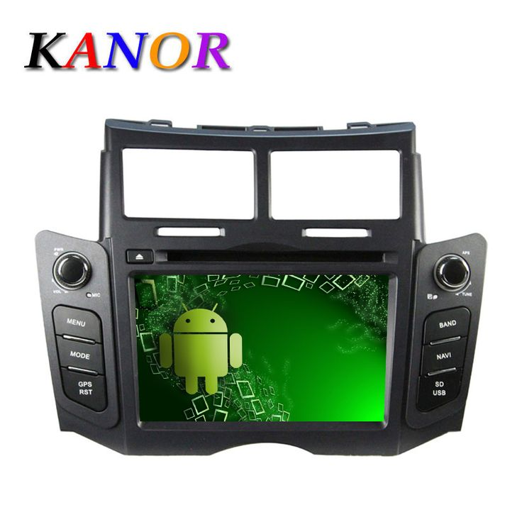 For 2005-2013 Toyota Yaris Autoradio Car DVD Player Android 5.1.1 GPS Navigation with Quad-core Radio Automotivo Stereo System