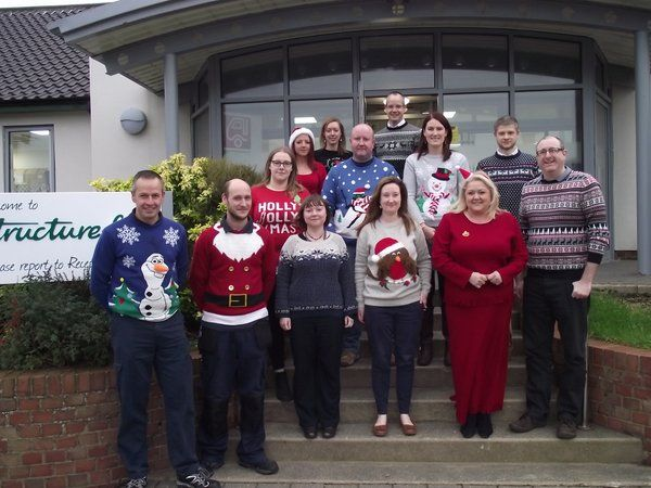 Text Santa CHristmas Jumper Day! Embedded image permalink
