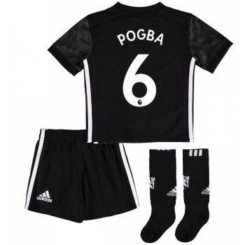 Manchester United Paul Pogba 6 kläder Barn 17-18 Bortatröja Kortärmad  #Billiga #fotbollströjor