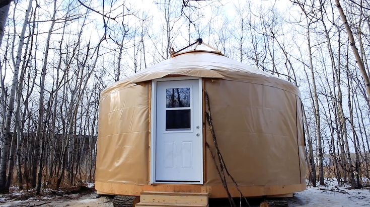 What on Earth is a Yurt?! Take a look at the Yurt that FortWhyte Alive purchased to use for our Forest School, and learn about why it is such a cool structure!