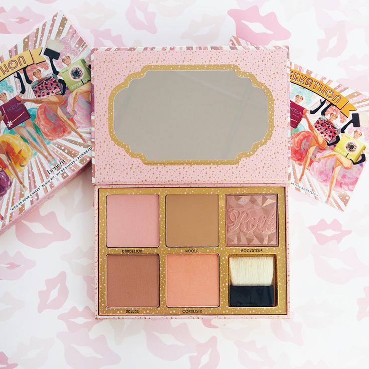 We love this Benefit Cosmetics Cheekathon kit, featuring all the box o'powders in full size for £44.50 xx