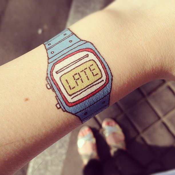 Il mio orologio...ahhaha