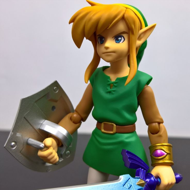 Que tal este hermoso #Link en la versión niño en #alinkbetweenworlds, el personaje del famoso video juego #thelegendofzelda de #Nintendo, esta vez mucho mas joven como se ve en de la línea #Figma #284