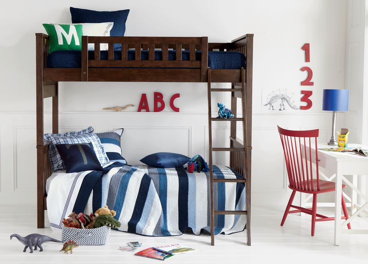 Great Dylan Bunk Bed   Ethan Allen US. Converts To Stand Alone Twin Beds.
