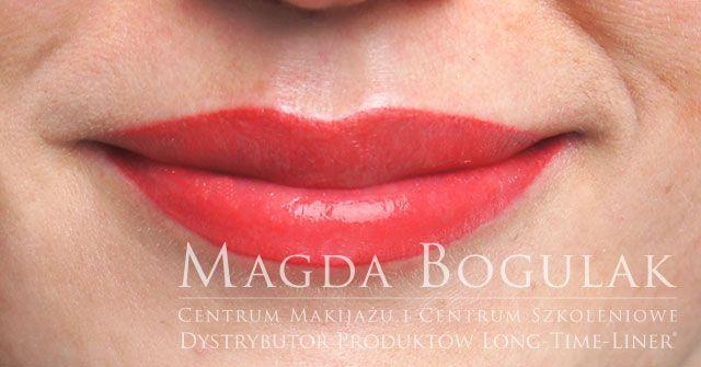 Makijaż permanentny ust. Więcej o makijażu permanentnym ust: http://permanentnywarszawa.pl/zabiegi/makijaz-permanentny-ust/