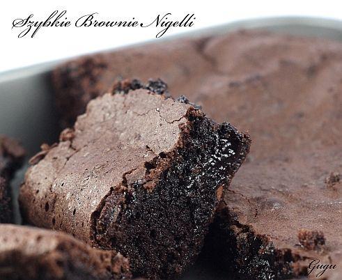 szybkie brownie