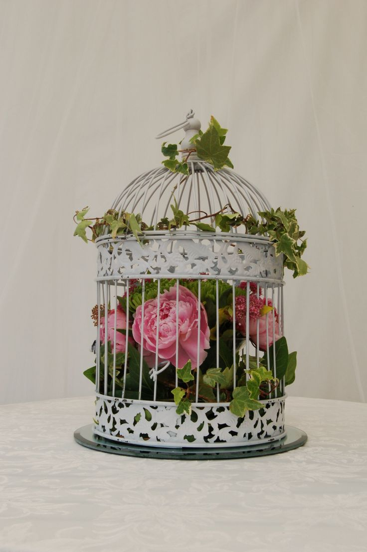 1000 Images About Flower Cages Amp Baskets On Pinterest