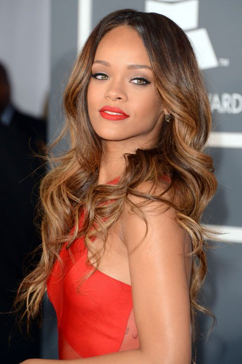 Rihanna at the Grammys: Her Hair & Makeup, absolutely stunning! Especially her Hair!