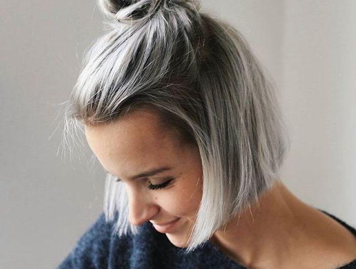 Haare Grau Farben Hier Finden Sie Alles Was Sie Daruber Wissen Mussen Haare Grau Farben Frisuren Graue Haare Graue Frisuren