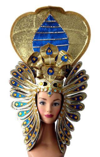 Egyptian Cobra Snake Isis Cleopatra Pharaoh Headdress
