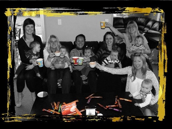 Our antenatal group - New Plymouth (Babies born July-September 2011) by Alisha Stone
