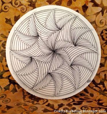 Maryhill Zendala including tutorial by Betsy