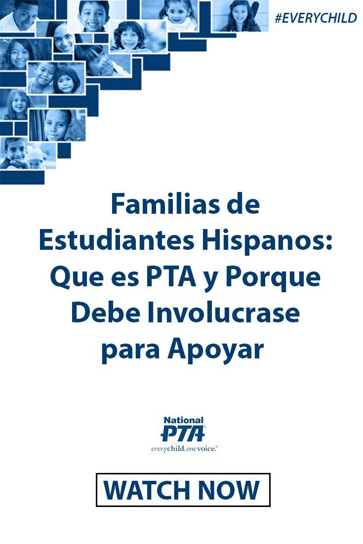 La PTA – Asociación de Padres y Maestros- es la organización de voluntarios más grande de los Estados Unidos funcionando desde 1897 en escuelas de toda la nación para que todos los niños tengan una voz poderosa.