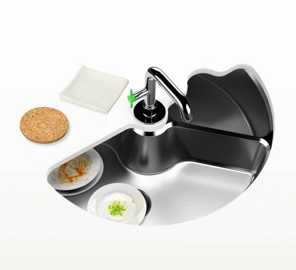 drehbares küchenspülbecken modell