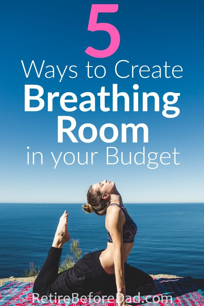 Does your budget need some tidying up? Utilize these 5 budgeting tips and lots of free tools to create breathing room in your budget. This post will help you save more money each month.