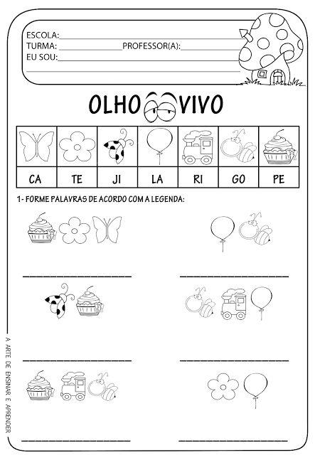 Atividade pronta - Formação de palavras