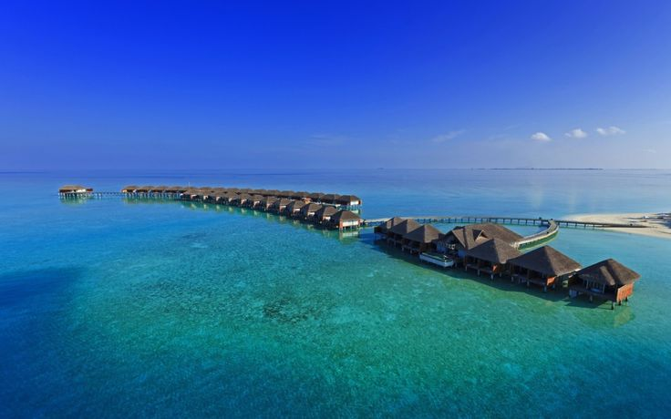 Wallpaper Bungalouri In Maldive