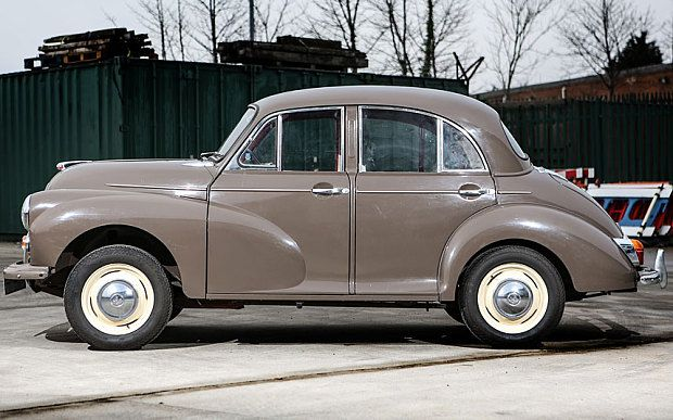 Morris Minor that hasn't been driven in 47 years goes up for sale - Telegraph