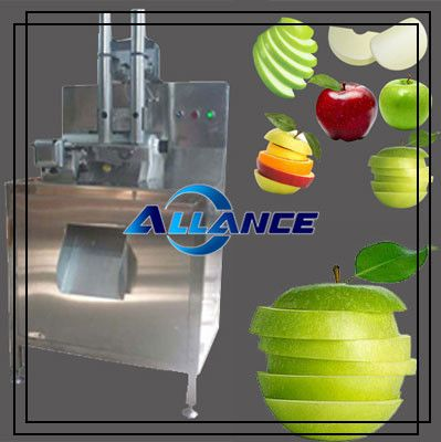 Apple Peeling Slicing Machine Apple slicing machine is an ideal slicer not only for apples but also for many other kinds of fruit, such as pineapple, cassava, lemon, banana, guava, sweet potato, taro, lotus and etc. If you want to process delicious fruit snacks in pieces and preserve original nutrients, apple slicing machine is worth your consideration. Model: ALSM-8000 Capacity: 8000 pieces/h Thickness: 2-8mm(adjustable) Certificate: CE certified Power: 0.3 kw(220v/ 380v-50H) Weight: 80kg…