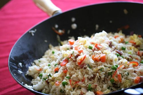 "In my quest to re-create Chinese Fried Rice at home, I have searched and tried many blog recipes....this one worked for me, finally allowing to really ""get it"" with Fried Rice at home.  It's okay to fiddle around with the ingredients...I use left-over pork or beef or chicken, no Chinese sausage and as always, this is a good way to tastefully use up left-overs."