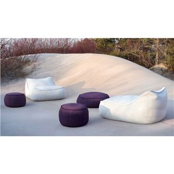 Paola Lenti Play Pouf - Style # B28x, Outdoor Ottoman – Modern Outdoor Ottoman - Contemporary Outdoor Ottomans | SwitchModern.com