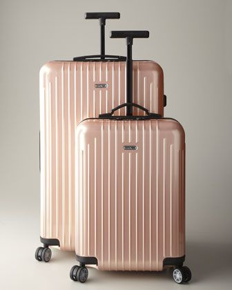 """Pearl Rose """"Salsa Air"""" Hardside Luggage by Rimowa North America at Neiman Marcus. YES!!! IM GONNA NEED THIS!!!!!!!!!!!! LOL"""