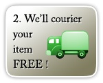 Courier your items