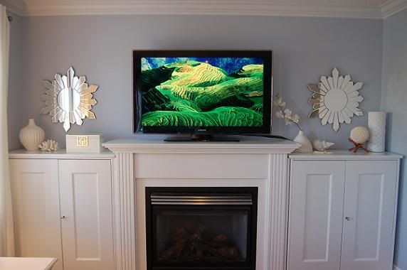Gas Fireplace With Tv Above Re Lcd Tv Above Gas