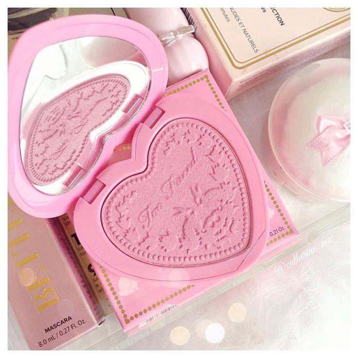 Too Faced Love Flush Blush, Justify My Love  lovecatherine.co.uk Instagram catherine.mw xo