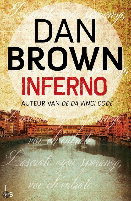Inferno, de vierde Robert Langdon-thriller, speelt zich af in Italië.`Hoewel ik al tijdens mijn studie Dantes Inferno heb gelezen, heb ik pas onlangs, toen ik onderzoek deed in Florence, echte waardering gekregen voor de invloed van Dantes werk op de moderne tijd, verklaart Brown.`Ik verheug me erop in mijn nieuwe boek de lezers mee te nemen op een reis naar deze mysterieuze wereld, een landschap vol codes, symbolen en geheime doorgangen.