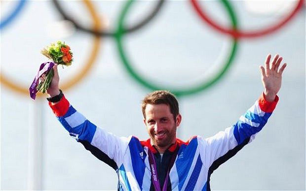 Ben Ainslie said his gold medal at London 2012 will rank as the best of his four Olympic triumphs. Congratulations