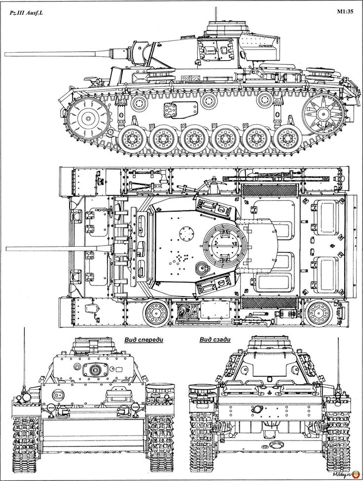 My personal favourite German tank, the Panzer III L  ~ Vengeance_Lord