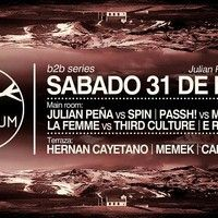 B2B Series Julian Pena Vs Spin by mspin on SoundCloud