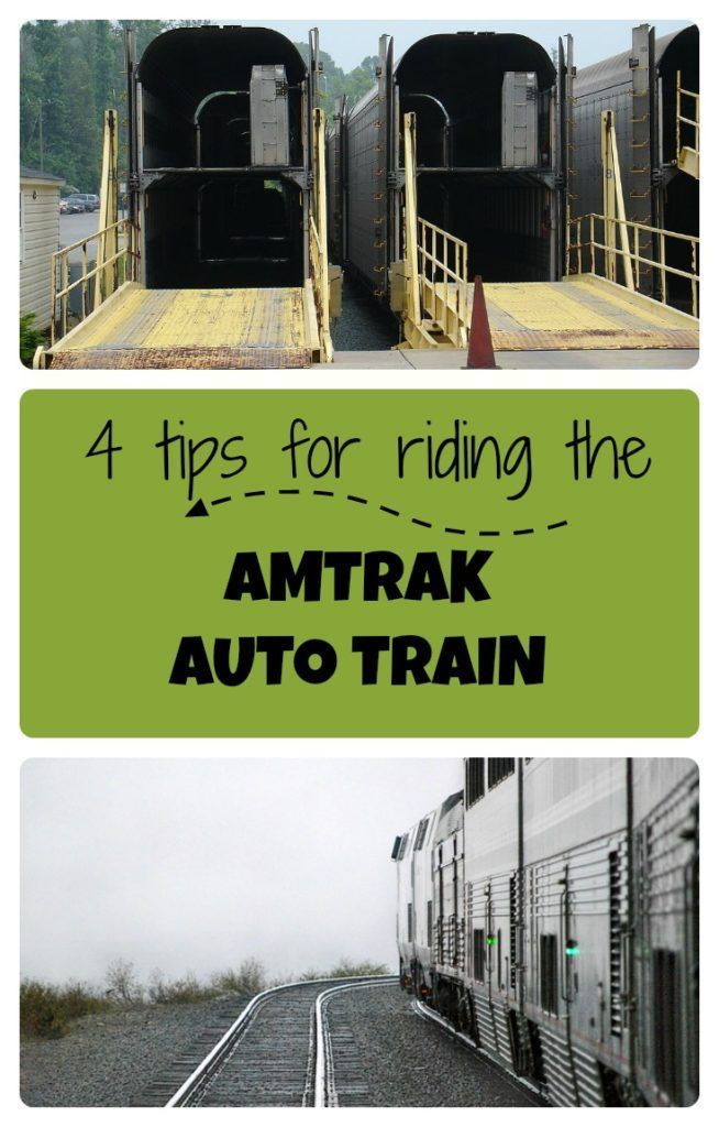 Here are 4 tips if you want to take the Amtrak Auto train from Virginia to Florida
