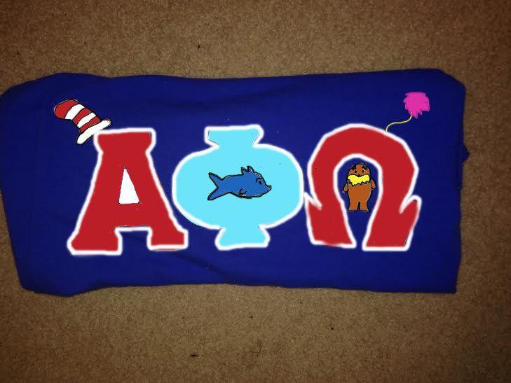 Dr. Seuss AphiO! :) @jlcwestminnie13