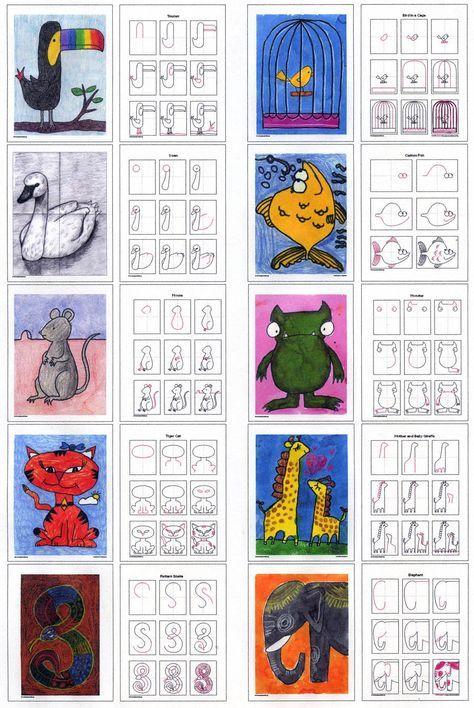 Draw More animals diagram