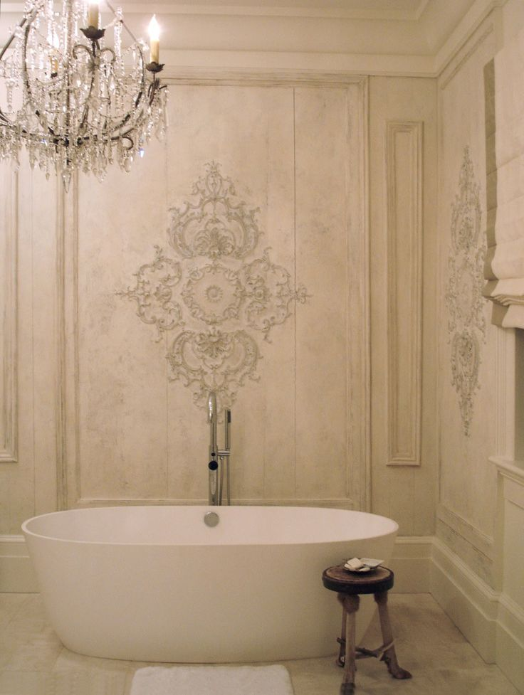 1318 best bathroom envy images on pinterest beautiful for French chic bathroom designs