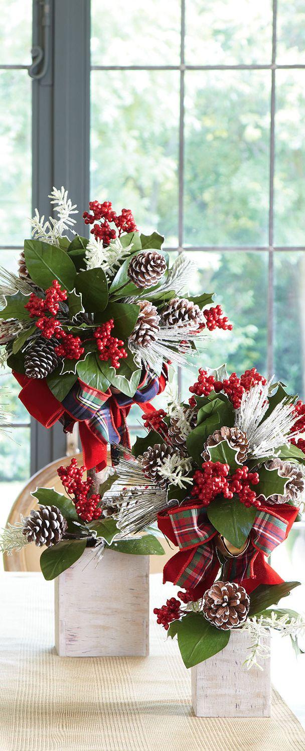 Christmas Topiaries