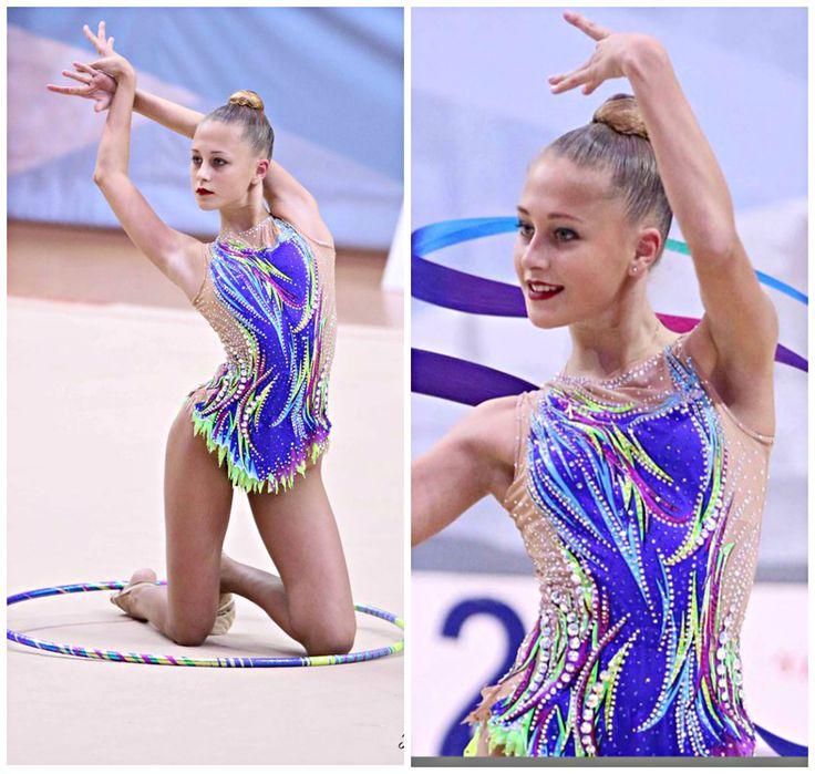 Rhythmic gymnastics leotard (photos by Tarasova Ev)