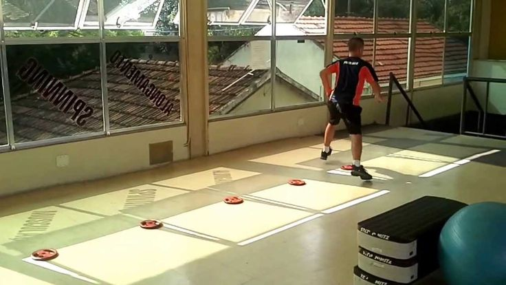 Circuito de treinamento funcional professor Leandro Zeranze