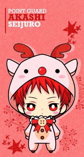 Reindeer Akashi Chibi - Cuteeee >w<