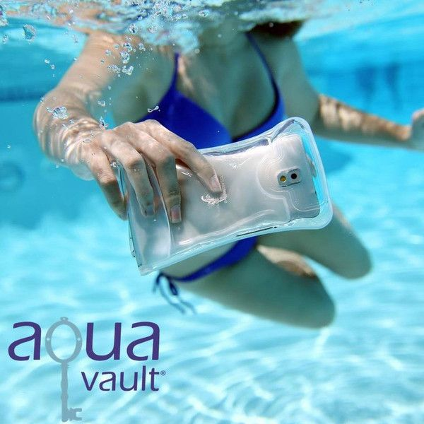 AquaVault Waterproof Floating Phone Case | AquaVault Portable Safe