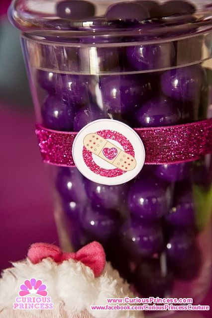Candy at a Doc McStuffins Party #docmcstuffins #partycandy