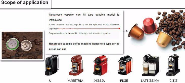Бесплатная доставка заводской магазин ди из нержавеющей стали металл кофемашина Nespresso совместимы капсула многоразового многоразовые, принадлежащий категории Фильтры для кофе и относящийся к Для дома и сада на сайте AliExpress.com | Alibaba Group