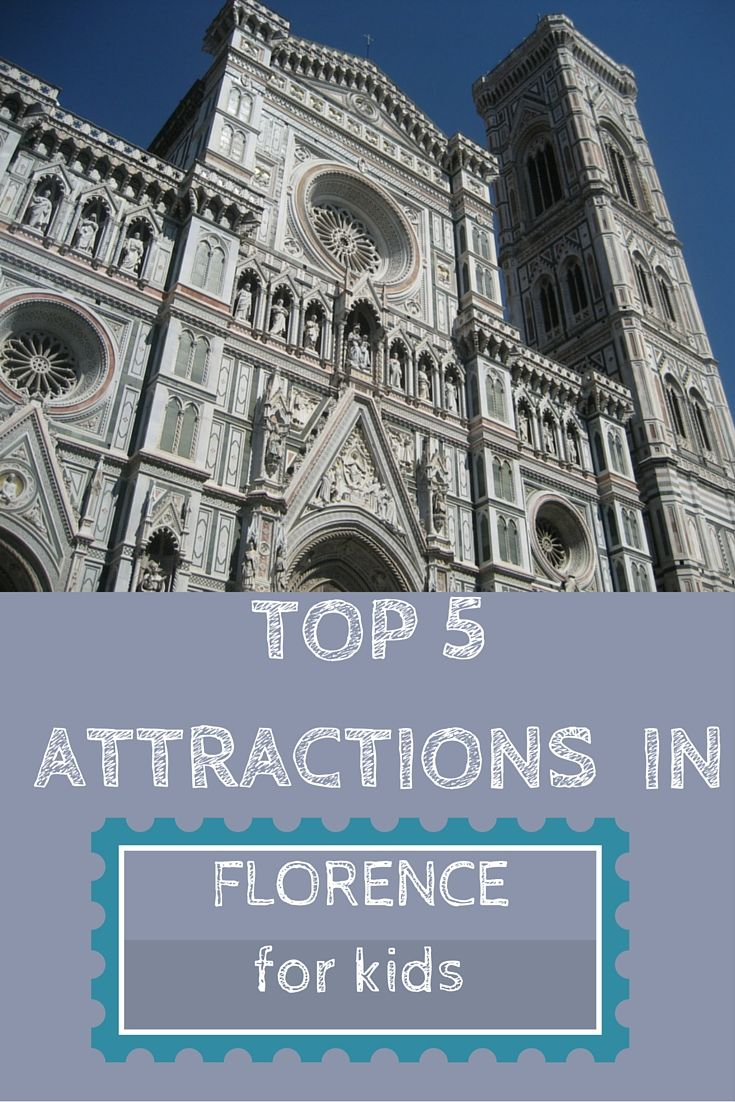 Visiting Florence with kids? Find out what our children loved the most about the city! Includes the best place in Florence to taste gelato and the best park for family days out
