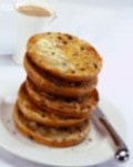 Toasted teacakes - an English 'dessert', served hot dripping with melted butter.  Strangely satisfying with a cup of tea in a tea shop anywhere in the UK.
